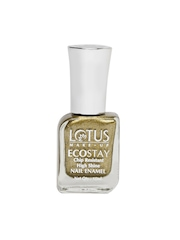 Lotus Herbals Ecostay Gold Frost Nail Enamel E44
