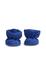 mothercare Boys Navy Booties