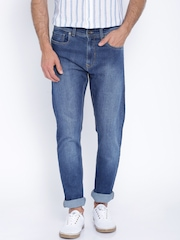 Peter England Casuals Blue Classic Tapered Jeans