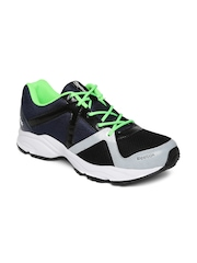Reebok Men Black & Navy Thunder Running Shoes