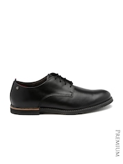 Timberland Men Black Leather Derby Formal Shoes