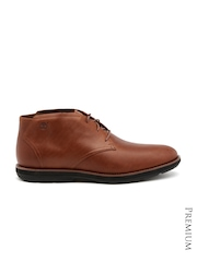 Timberland Men Brown Leather Boots