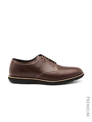 Timberland Men Brown Leather Derby Formal Shoes