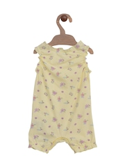 mothercare Girls Pack of 2 Rompers