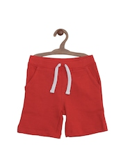 mothercare Boys Red Shorts