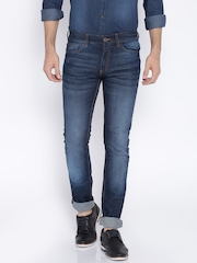 Highlander Navy Slim Fit Jeans