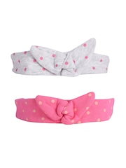 mothercare Girls Set of 2 Hairbands