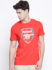 PUMA Red Arsenal Printed T-shirt