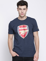 PUMA Navy Printed Arsenal T-shirt