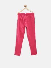 PUMA Girls Pink Slim Fit Track Pants