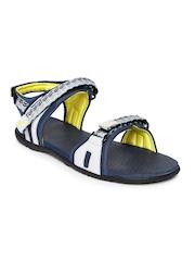 PUMA Men Navy & Grey Zoom Sports Sandals