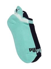 PUMA Women Set of 2 Ankle-Length Sneaker Socks