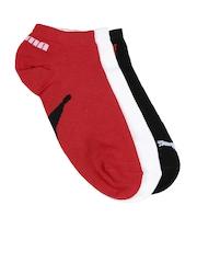 PUMA Unisex Set of 3 Ankle-Length Socks