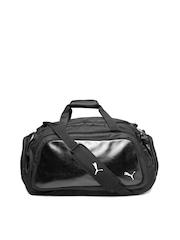 PUMA Unisex Black Elite Duffle Bag