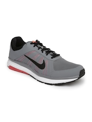 Nike Men Grey Dart 12 MSL Running Shoes
