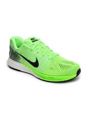 Nike Men Fluorescent Green LunarGlide 7 Running Shoes