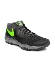Nike Men Black Air Max Emergent Basketball Shoes