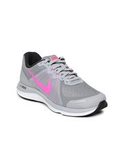 Nike Women Grey Dual Fusion X 2 Running Shoes