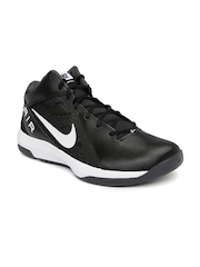 Nike Men Black The Air Overplay IX Basketball Shoes