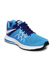 Nike Men Blue Zoom Winflo 3 Running Shoes