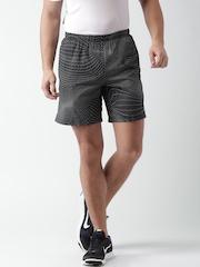 Nike Black 7'' Distance Printed Running Shorts
