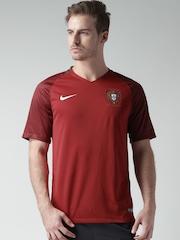 Nike Red FFF M SS HM Stadium Football Jersey