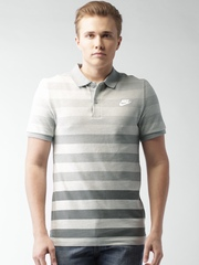 Nike Grey GS SLIM POLO-SOLSTICE NSW T-Shirt