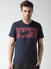 Nike Navy AS Ultra NSW Swoosh Print T-shirt