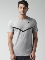 Nike Grey FUTURA MSH PANEL PRNT NSW T-shirt