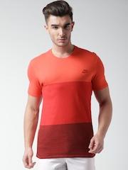 Nike Red Tonal Colourblock T-shirt