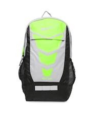 Nike Men Grey & Black Max Air Vapor Printed Backpack