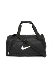Nike Unisex Black Duffel Bag
