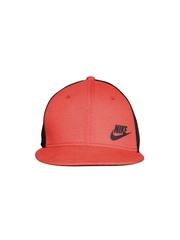 Nike Unisex Red & Black Tech Pack True Snapback Cap