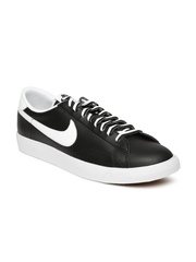 Nike Men Black Tennis Classic AC NSW Leather Sneakers