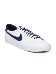Nike Men White Tennis Classic AC NSW Leather Sneakers