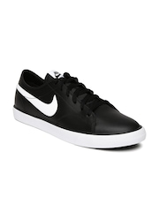 Nike Men Black Primo Court NSW Leather Sneakers