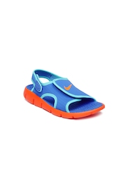 Nike Boys Blue Sandals
