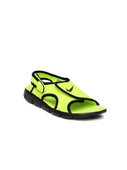 Nike Boys Neon Green Sandals