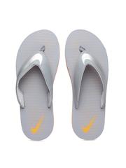Nike Men Grey Chroma Thong 5 Printed Flip-Flops