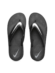 Nike Men Black Chroma Thong 5 Printed Flip-Flops