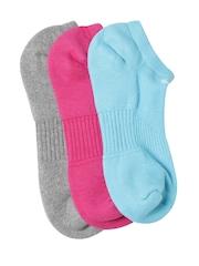 Nike Women Pack of 3 Cushion No Show Ankle-Length Socks