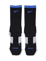 Nike Unisex Black & Grey Soccer Socks