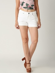 All About You from Deepika Padukone White Denim Shorts