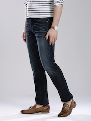 GUESS-Navy-Washed-Slim-Straight-Fit-Jeans