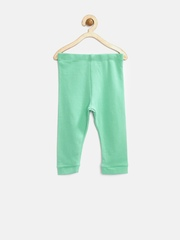 Marks & Spencer Baby Mint Green Cotton Rich Lounge Pants