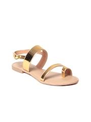 GNIST Women Gold-Toned Flats