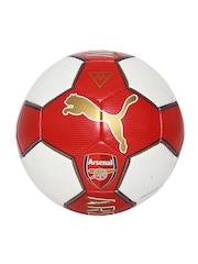 PUMA Unisex Red & White Arsenal Fan Football