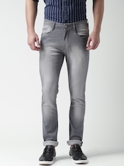 Mast & Harbour Grey Skinny Fit Jeans