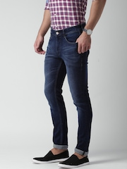 Mast & Harbour Blue Skinny Jeans