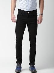 Mast & Harbour Black Skinny Fit Jeans